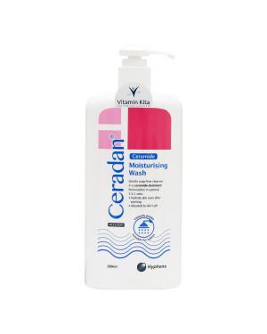 CERADAN MOISTURISING BODY WASH SOAP FREE 280 ML