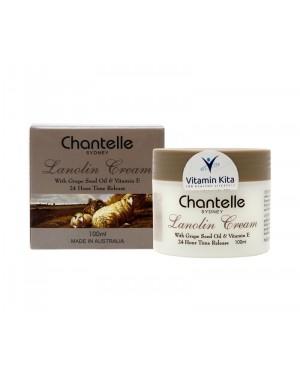 Chantelle Lanolin Cream With Grape Seed Oil And Vitamin E - 100ml
