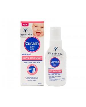 Curash Nappy Rash Spray - 50mL