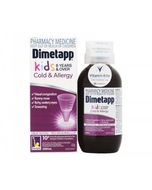 Dimetapp Kids Cold And Allergy 6 Years - 200 ml