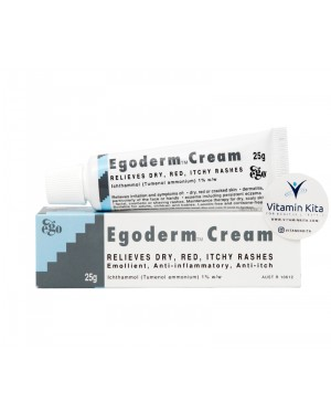 Egoderm Cream For Eczema-Rash And Relieves Dry-25g