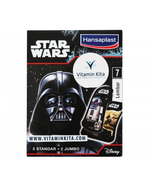 Hansaplast Star Wars Plester Anak - 7 Lembar