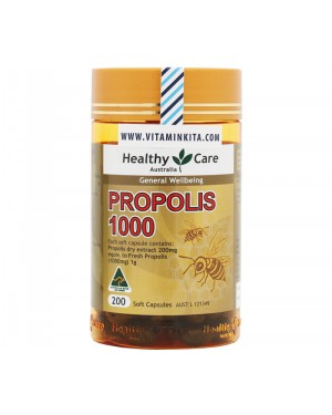 Healthy Care Propolis 1000mg (200 Caps)