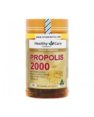 Healthy Care Propolis 2000mg (200 Caps)