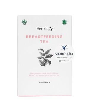 HERBILOGY BREASTFEEDING TEA 20 PCS/BOX BPOM UNTUK MELANCARKAN ASI