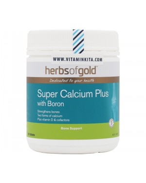 Herbs of Gold Super Calcium Plus With Boron (180 Tab)