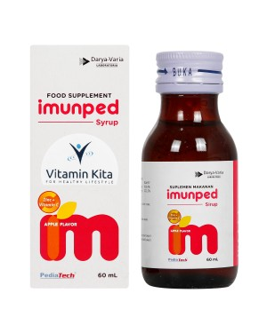 IMUNPED SYRUP FOR 2 - 12 YEARS OLD 60 ML