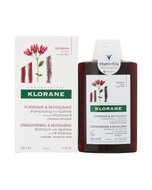 Klorane Shampoo With Quinine And B Vitamins - 200 ml