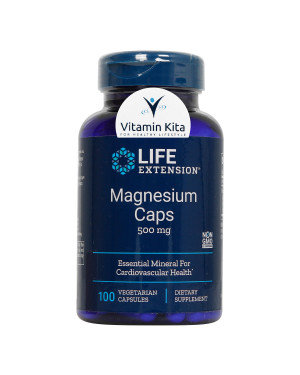 Life Extension Magnesium Caps 500mg-100Caps KK