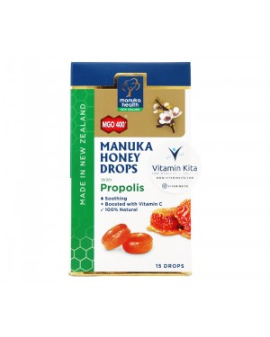 Manuka Health Manuka Honey Drops MGO 400 Propolis - 15 Drops