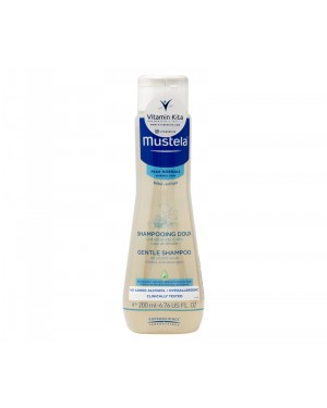 MUSTELA GENTLE SHAMPOO FOR DELICATE HAIR BPOM - 200 ML