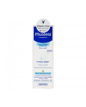 MUSTELA HYDRA BEBE FACIAL CREAM BPOM- 40 ML