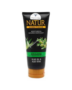 NATUR CONDITIONER OLIVE OIL AND ALOEVERA 165ML