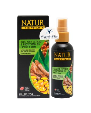 NATUR HAIR VITAMIN ALOE VERA AND VITAMIN B5 80 ML