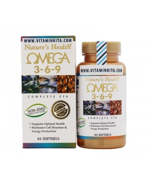 NATURES HEALTH OMEGA 3-6-9 (45 TAB)