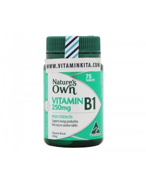 Natures Own Vitamin B1 250mg - 75 tab