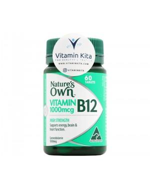 Natures Own High Strength Vitamin B12 1000MCG (60 Tab)