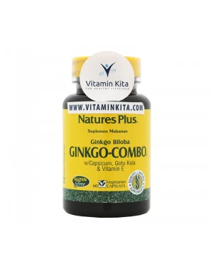 NATURES PLUS GINKGO COMBO (60 CAPS)
