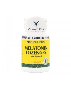 NATURES PLUS MELATONIN LOZENGES - 60 LOZENGES