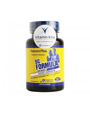 NATURES PLUS SC FORMULA SUGAR CONTROL BPOM - 60 CAPS