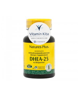 Natures Plus Dhea-25 With Bioperine-60tab