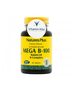NATURES PLUS MEGA B 100 - 60 TAB