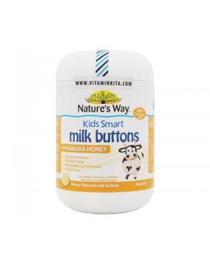 Natures Way Kids Smart  Milk Buttons With Manuka Honey - 150 chew