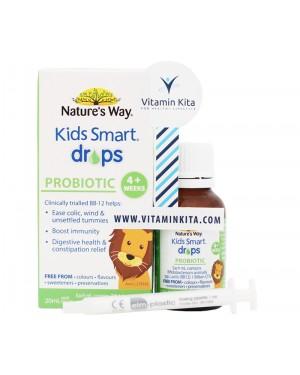 Natures Way Kids Smart Drops Probiotics (20mL)