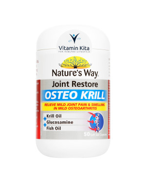 Natures Way Joint Restore Osteo Krill (50caps)