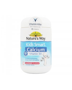 Natures Way Kids Smart Calcium Plus Vitamin D3 - 100 ChewTab