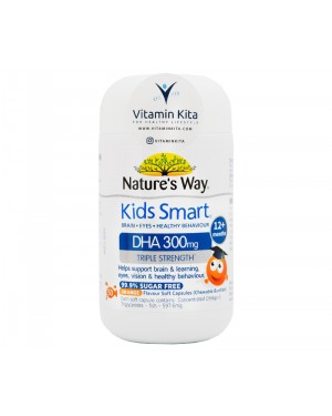 NATURES WAY KIDS SMART TRIPLE STRENGTH DHA 300MG (50 SOFT CAPS)