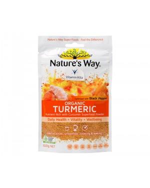 Natures Way Superfoods Organic Turmeric Powder 100gr
