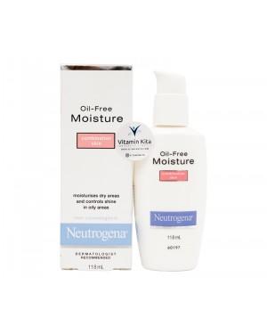 Neutrogena Oil Free Moisture Combination Skin (118mL)