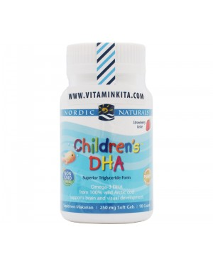 NORDIC NATURALS CHILDREN'S DHA BPOM (90 SOFTGEL)