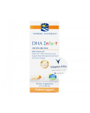 Nordic Naturals DHA Infant With Vitamin D3 - 60 ml