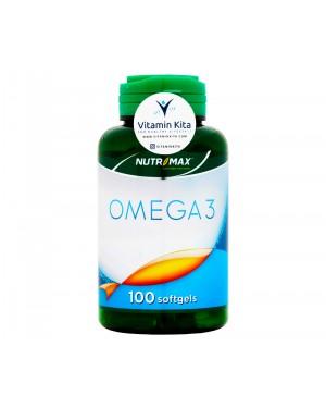 Nutrimax Omega 3 - 100 Softgels