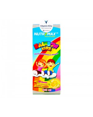 Nutrimax Rainbow Kidz Liquid Multivitamins And Minerals - 240 ml