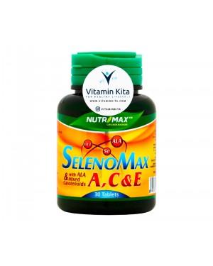 Nutrimax Selenomax A,C, And E Untuk Antioksidan dan Anti Aging - 30 Tabs