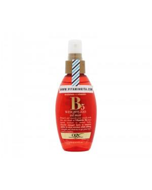 OGX Moisture Plus Vitamin B5 Weightless Oil Mist - 118 ml