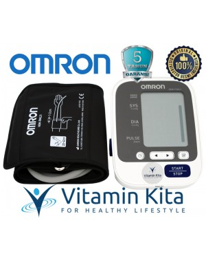 OMRON AUTOMATIC BLOOD PRESSURE MONITOR HEM-7130-L - 1 PC