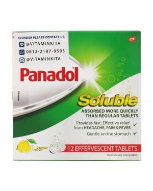 Panadol Soluble Lemon Flavour (12 Tab)
