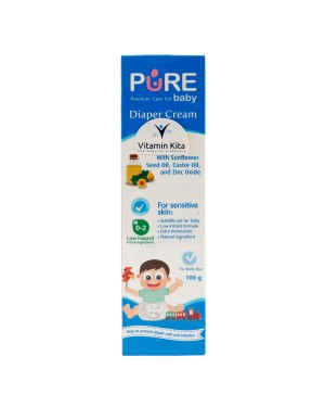 PURE BABY DIAPERS CREAM 100 GR