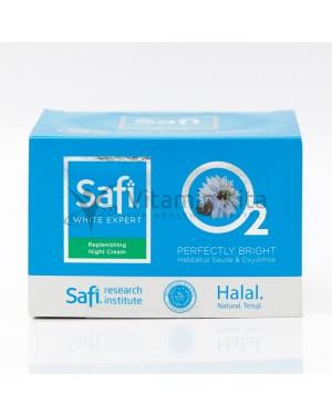 SAFIWHITE EXPERT REPLENISHING NIGHT CREAM 25GR