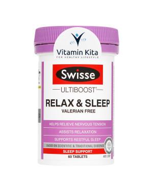 Swisse Ultiboost Relax And Sleep - 60 Tab