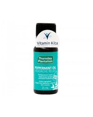 Thursday Plantation Pepermint Oil Headache Relief - 25mL