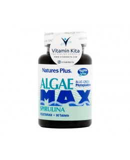 NATURES PLUS ALGAE MAX SPIRULINA - 90 TAB