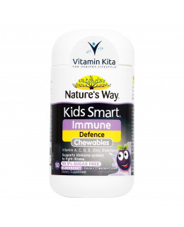 Natures Way Kids Smart Immune Defence-50 ChewTab