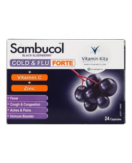 Sambucol Cold And Flu Forte (24 Caps)