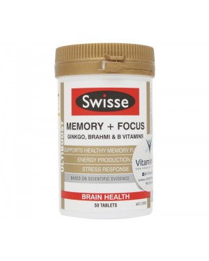 Swisse Ultiboost Memory + Focus (50 Tab)