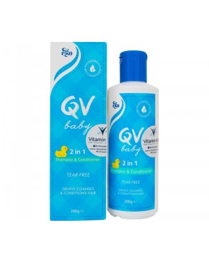 QV Baby 2 In 1 Shampoo & Conditioner (200g)